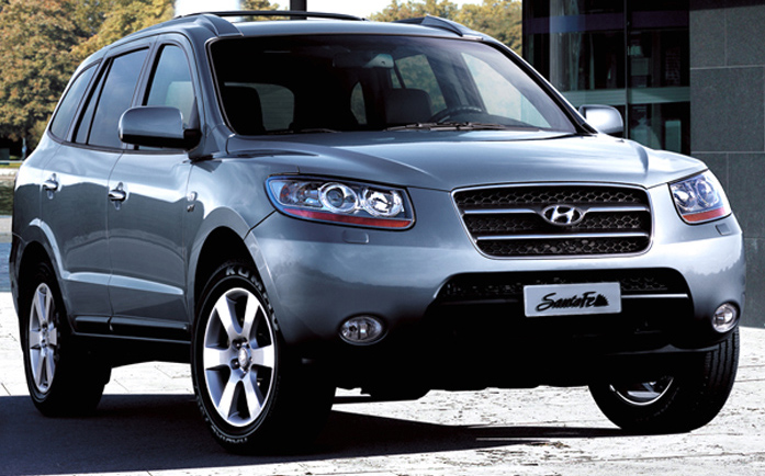 hyundai santa fe 4x4 2 2 diesel with 7 seats automobil. Black Bedroom Furniture Sets. Home Design Ideas